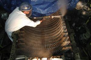 чистка промышленного оборудования, пескоструйная очистка термохимическая очистка оборудования, заказать, цена